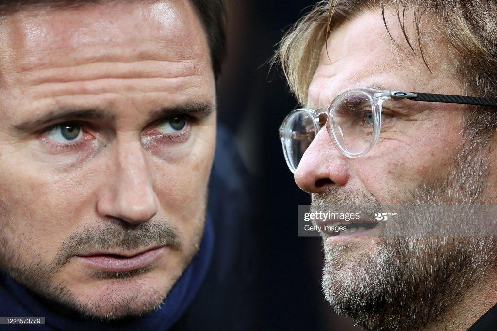 Frank Lampard vs Jurgen Klopp