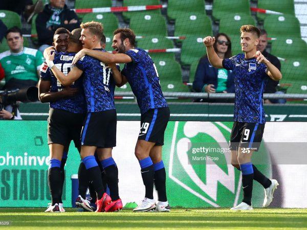 Hertha vs Eintracht Frankfurt