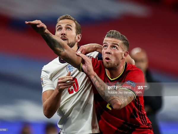 Belgium vs England