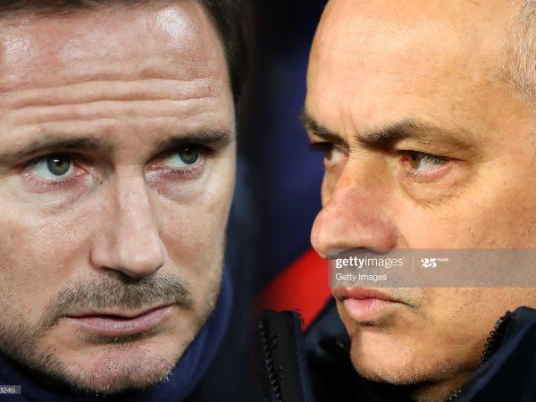 Frank Lampard vs Jose Mourinho