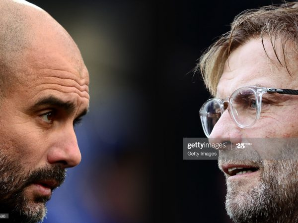 Pep Guardiola vs Jurgen Klopp