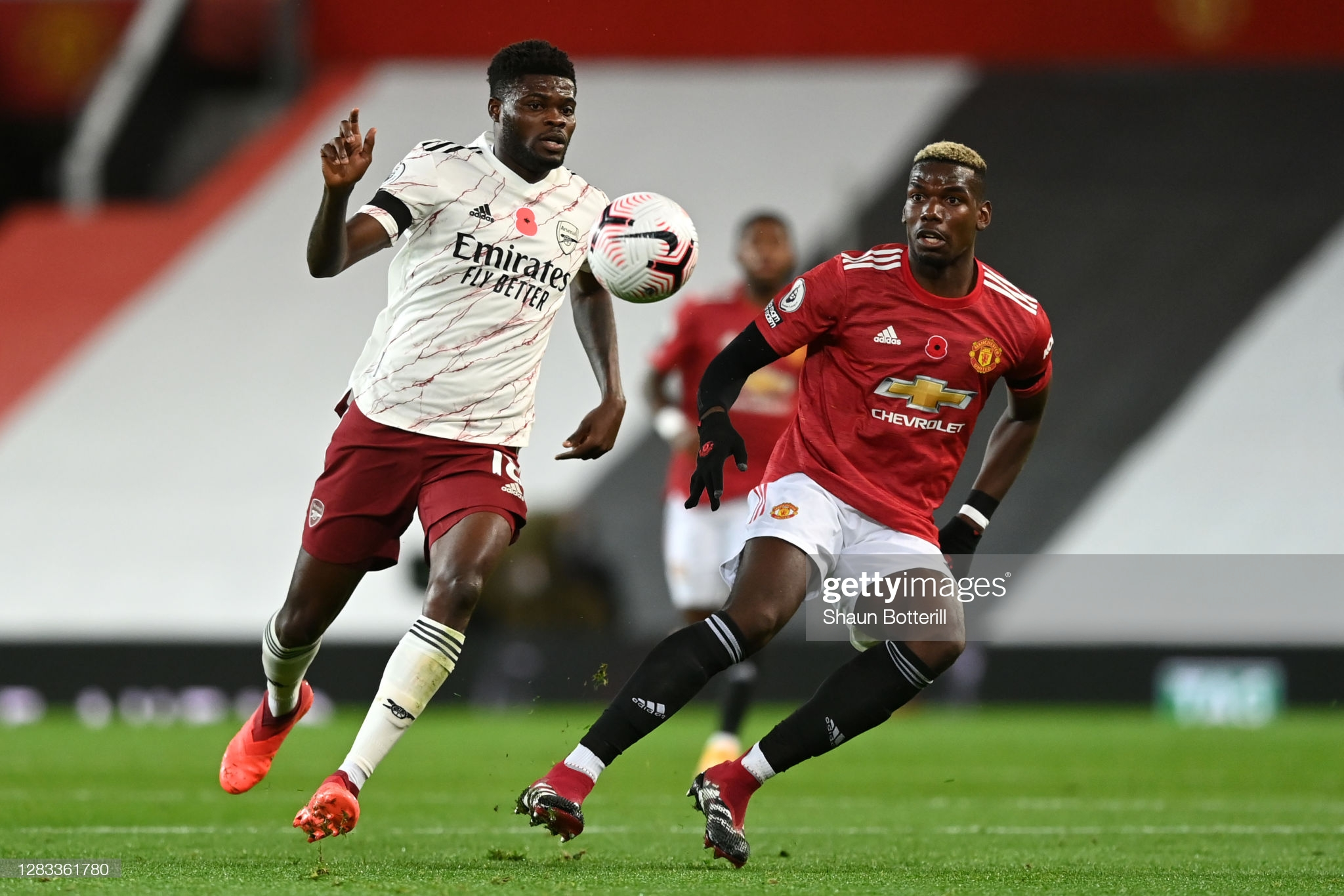 Manchester United vs Arsenal: Thomas Partey and Paul Pogba